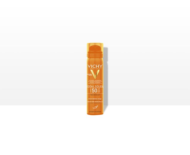 Spray solare  viso invisibile SPF 50 Ideal Soleil