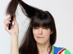 What is static hair and how can it be treated and prevented